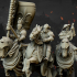 Medieval Heavy Cavalry Command Group - Highlands Miniatures image