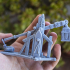 Medieval Trebuchet and Crew - Highlands Miniatures image