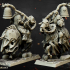 Undead Dark Knight Command Group - Highlands Miniatures image