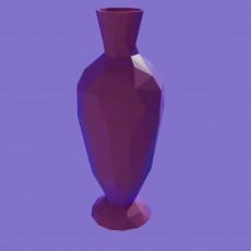 Lowpoly vase