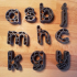 Alphabet Playdough Cutters image