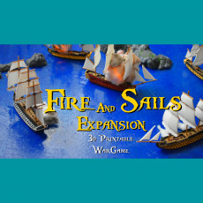 Fire and Sails: Historic ships expansion pack.