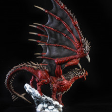 Picture of print of Young Red Dragon