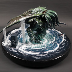 Picture of print of Cthulhu