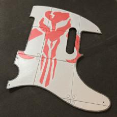 Mandalorian Emblem Scratchplate for Fender Telecaster