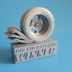 Car Racing Trophy