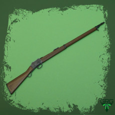 Martini Henry 1871 - scale 1/4