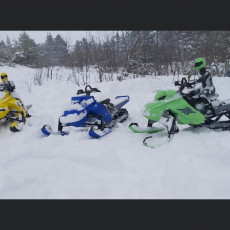 SkeeRide -- RC Snowmobile