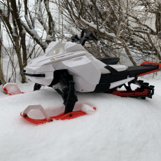 Picture of print of SkeeRide -- RC Snowmobile