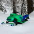 SkeeRide -- RC Snowmobile image