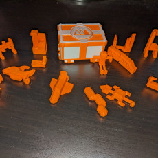 Picture of print of Tiny Toy Box Packing Puzzle