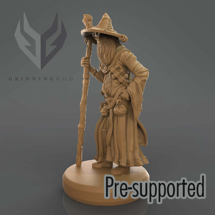 Wizard - pre-supported stl