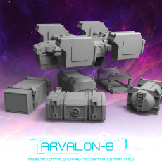 Arvalon-8 Space Fleet: The Shooting Star