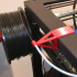 Sapphire Plus Filament spool and tube holders for direct extruder image