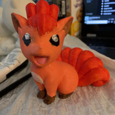 Picture of print of Vulpix(Pokemon)
