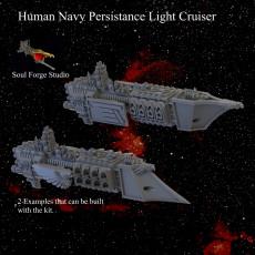Human Navy Persistance Light Cruiser