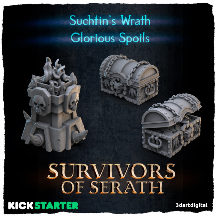 Glorious Spoils and Suchtin's Wrath's Cover