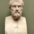 Head of a Man on a Herm (known as Xenocrates) image