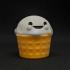 Melty, the happy ice cream image