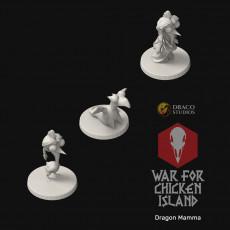Dragon Mamma from War for Chicken Island