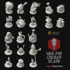 War for Chicken Island (Models from Core Game)