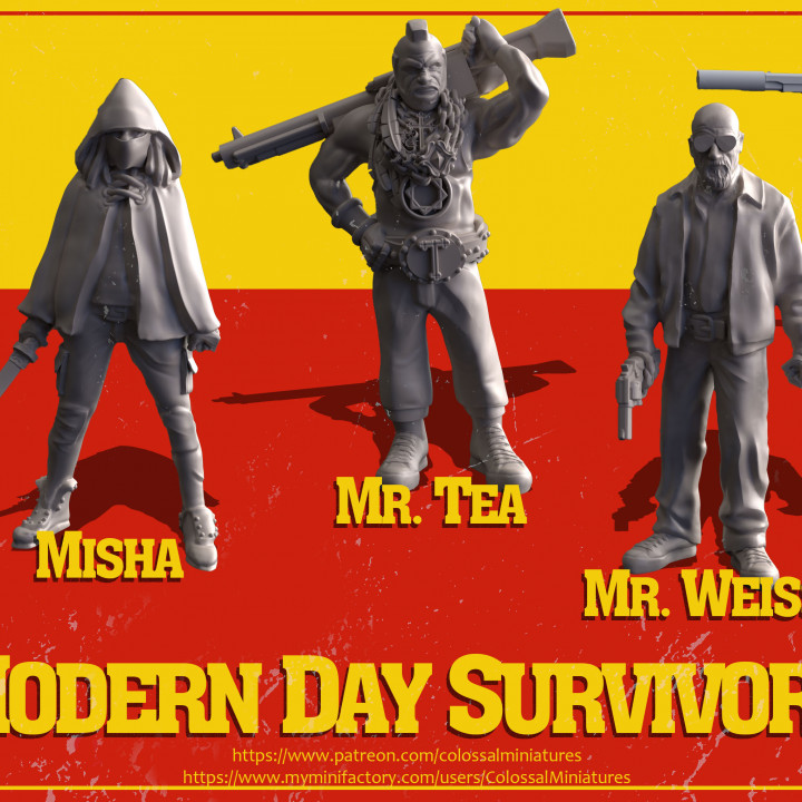 Modern Day Survivors Series 05 Bundle - PRE-SUPPORTED's Cover