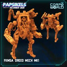 FKMSA DROID MECH MK1