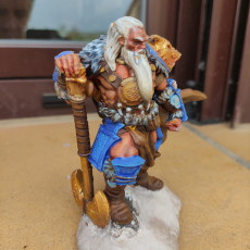 Picture of print of Barbarian Chieftain