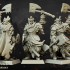 Undead Blackwatch Command Group - Highlands Miniatures image