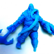 Picture of print of undeand giant  support ready