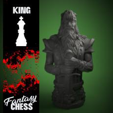 Chess King Fantasy style