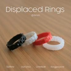Displaced Rings