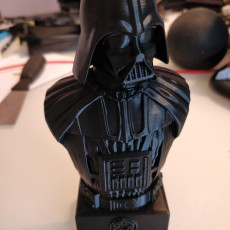 Picture of print of Darth Vader Bust - Star Wars