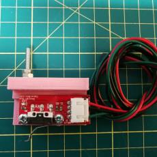 Z probe holder for CNC - CNC support sonde Z