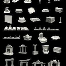 D00 Horus Decorations Pack