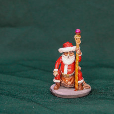 Picture of print of Santa Wizard - FREE