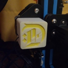 X Axis Cover for CR-10 - Remix with my logo