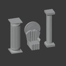 Throne and Pillars
