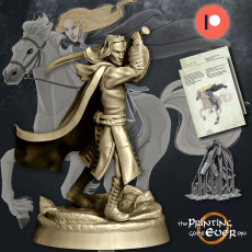 Elven Hero Golloccel - Presupported