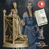 Elven Lady Aranwen - Presupported image