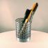 Honeycomb Pencil Holder + Sticky Notes Storage Box - set image