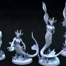 Abyssal Serpents (Female)
