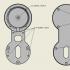 Nest Mini mount for the Italian socket image