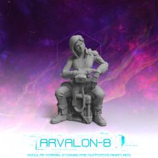 Arvalon 8 Crews: Crew 1-3 Tammy  Ensign  Croft