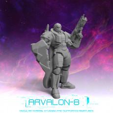 Arvalon 8 Crews: Crew 3-4 Aucord  The Shield