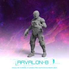 Arvalon 8 Crews: Crew 7-4 Skizzix