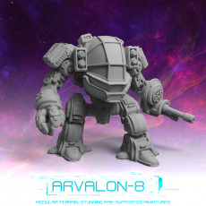 Arvalon 8 Crews: Crew 9-4 Claymore