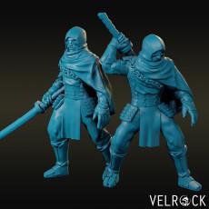 Masked Assassin with Katana (Male)