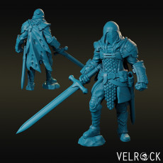 Weary Knight with Greatsword (male) NOW PRESUPPORTED