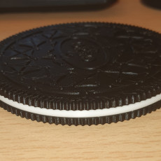 Picture of print of Oreo QI wireless charger